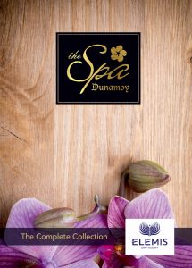 Click on image to download Elemis Spa brochure